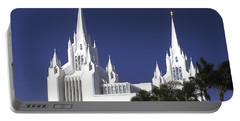 Mormon Temple Portable Battery Charger