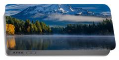 Morning At Siskiyou Lake Portable Battery Charger