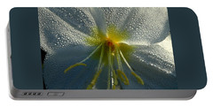 Morning Dew Portable Battery Charger by Steven Reed