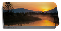 Portable Battery Charger featuring the photograph Morning Has Broken by Jack Bell