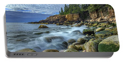 Morning In Monument Cove Portable Battery Charger