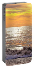 Portable Battery Charger featuring the photograph Sunrise Solitude by Kim Bemis