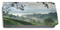 Morning Mist Portable Battery Charger by Heiko Koehrer-Wagner