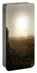 Morning Mist Portable Battery Charger by Vicki Spindler
