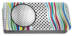 Morris Like Pop Art Portable Battery Charger