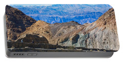 Mosaic Canyon Picnic Portable Battery Charger by Stuart Litoff