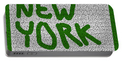 Mosaic New York Green Version Portable Battery Charger