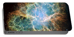 Most Detailed Image Of The Crab Nebula Portable Battery Charger