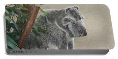 Mother And Child Koalas Portable Battery Charger
