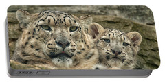 Mother And Cub Portable Battery Charger