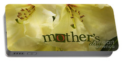 Portable Battery Charger featuring the photograph Mothers Day by Jean OKeeffe Macro Abundance Art