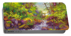 Mother's Day Oasis - Woodland River Portable Battery Charger