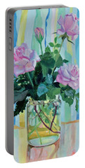 Mother's Roses Portable Battery Charger