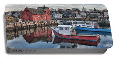 Motif 1 Sky Reflections Portable Battery Charger by Jeff Folger