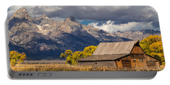 Moulton Barn In The Tetons Portable Battery Charger