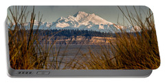 Mount Baker From Port Townsend Portable Battery Charger