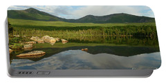 Portable Battery Charger featuring the photograph Mount Katahdin by Jeannette Hunt
