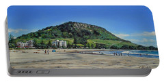 Mount Maunganui Beach 151209 Portable Battery Charger by Sylvia Kula