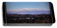 Mount Moosilauke Snowy Blanket Portable Battery Charger