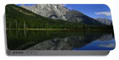 Mount Moran And String Lake Portable Battery Charger