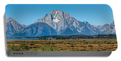 Mount Moran Portable Battery Charger by John M Bailey