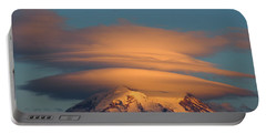 Mount Rainier In November  Portable Battery Charger