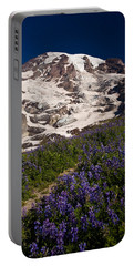 Mount Rainier Wildflower Meadows Portable Battery Charger