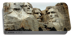 Mount Rushmore Presidents Portable Battery Charger by Clarice  Lakota