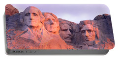 Mount Rushmore, South Dakota, Usa Portable Battery Charger by Panoramic Images