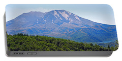 Portable Battery Charger featuring the photograph Mount St. Helens And Castle Lake In August by Connie Fox