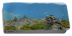 Mount Washington Rock Cairns Portable Battery Charger