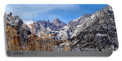 Mount Whitney - California Portable Battery Charger by Glenn McCarthy Art and Photography