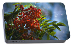 Portable Battery Charger featuring the photograph Mountain Ash by Yulia Kazansky