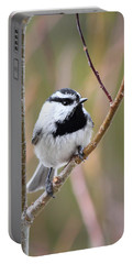 Mountain Chickadee Portable Battery Charger