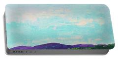 Mountain Lake Portable Battery Charger by Gail Kent