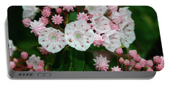 Mountain Laurel Portable Battery Charger by Annlynn Ward