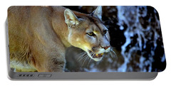 Mountain Lion Portable Battery Charger by Deena Stoddard