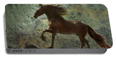 Mountain Majesty Portable Battery Charger by Melinda Hughes-Berland
