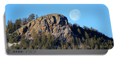 Mountain Moonset Portable Battery Charger