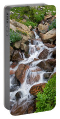 Portable Battery Charger featuring the photograph Mountain Stream by Ronda Kimbrow