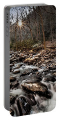 Portable Battery Charger featuring the photograph Icy Mountain Stream by Debbie Green