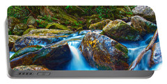 Portable Battery Charger featuring the photograph Mountain Streams by Alex Grichenko