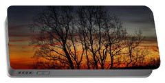 Portable Battery Charger featuring the photograph Mountain Sunset by Kathryn Meyer