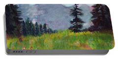 Mountain View Portable Battery Charger by C Sitton