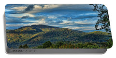 Mountain View Portable Battery Charger by Kenny Francis