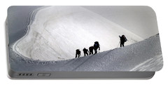 Mountaineers To Conquer Mont Blanc Portable Battery Charger