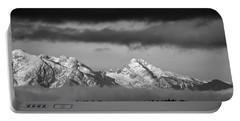 Mountains And Clouds Portable Battery Charger