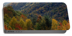 Mountains Leaves Portable Battery Charger