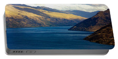 Mountains Meet Lake #2 Portable Battery Charger by Stuart Litoff