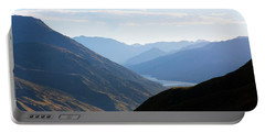 Mountains Meet Lake #3 Portable Battery Charger by Stuart Litoff